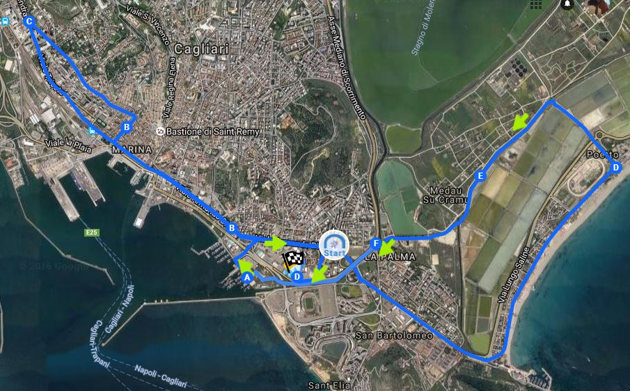 Scopri il percorso della CRAI CagliariRespira
