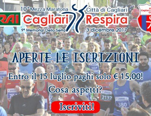 Aperte le iscrizioni alla CRAI CagliariRespira 2017