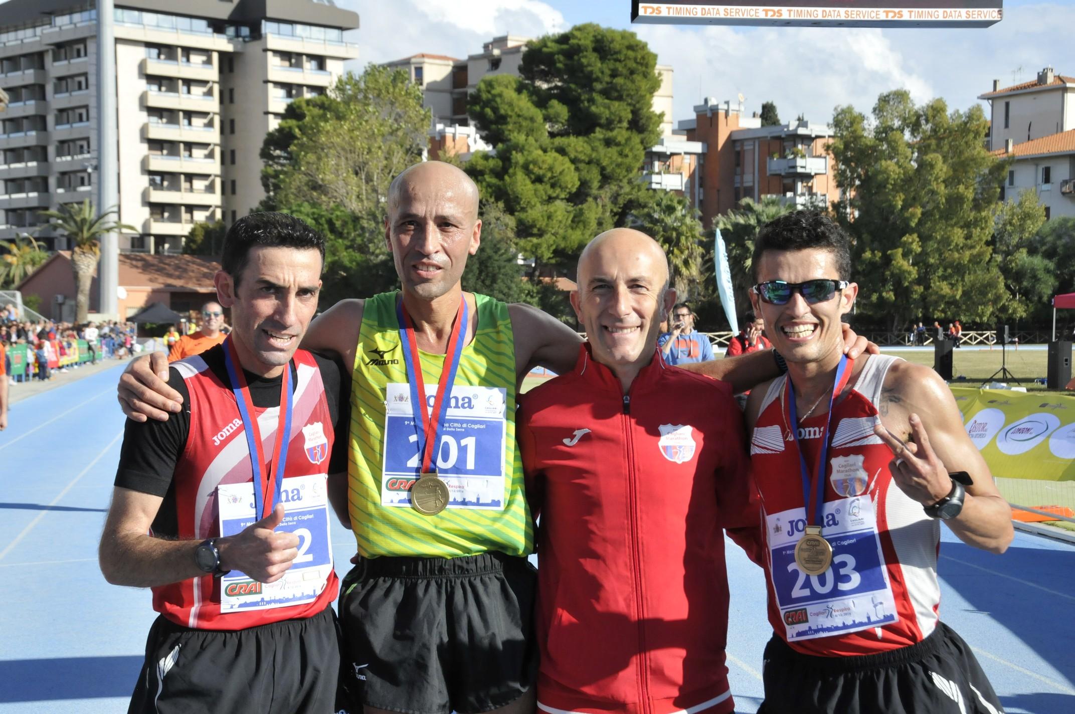 Che fenomeni, questi i top runner della 10^ CRAI Cagliari Respira