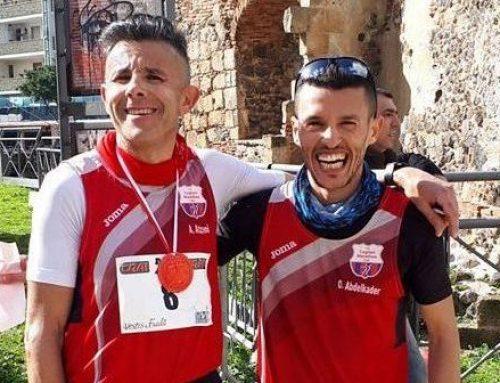 Oualid Abdelkader, che festa la vittoria a Oristano!