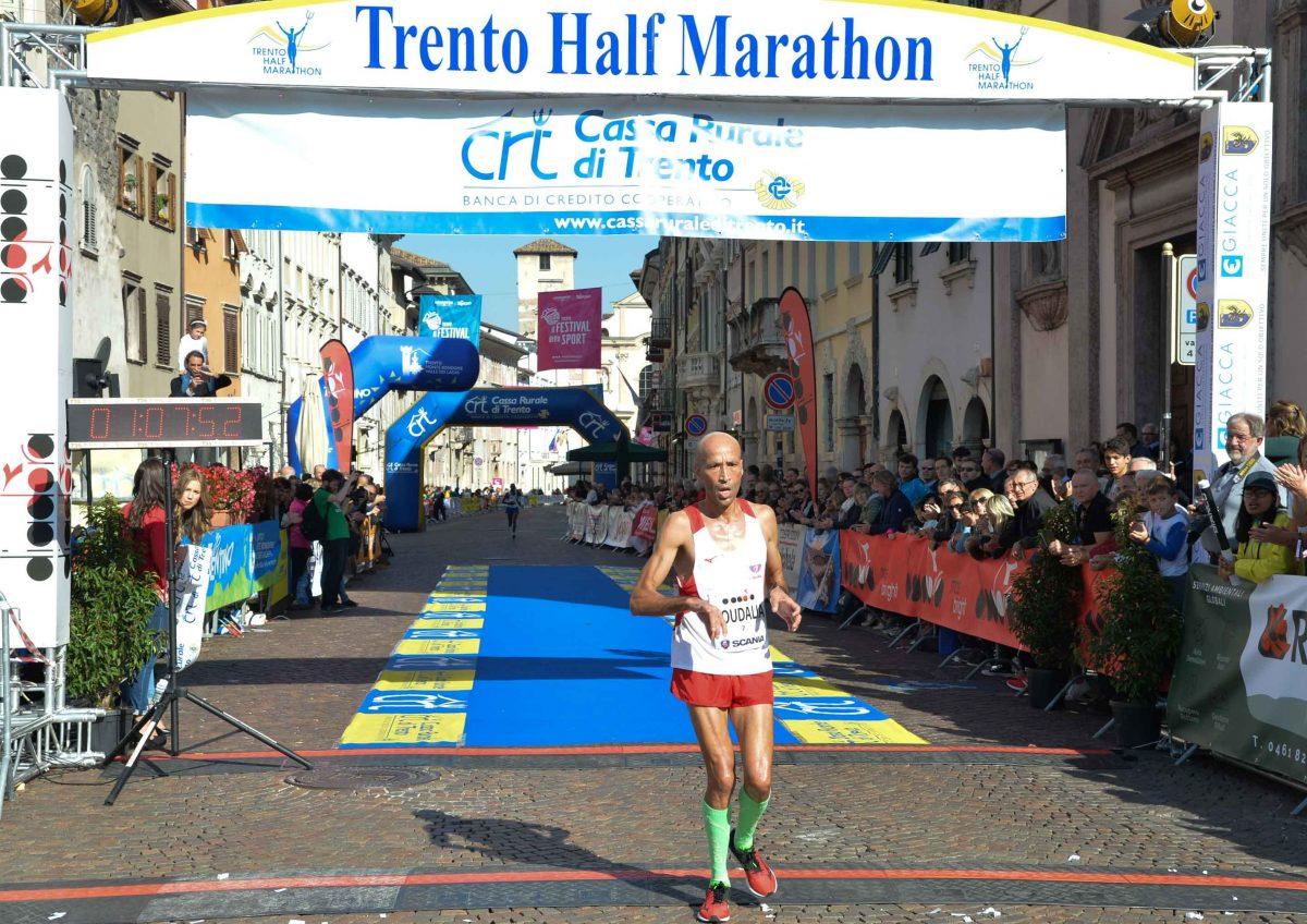 Trento Running Festival - Il Said Boudalia, October the 7th, 2018 -  Trento, Italy. Trento Half Marathon  © foto Daniele Mosna
