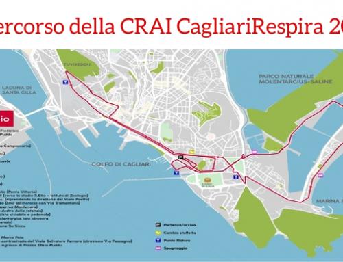 Confermato il percorso della dodicesima CRAI CagliariRespira
