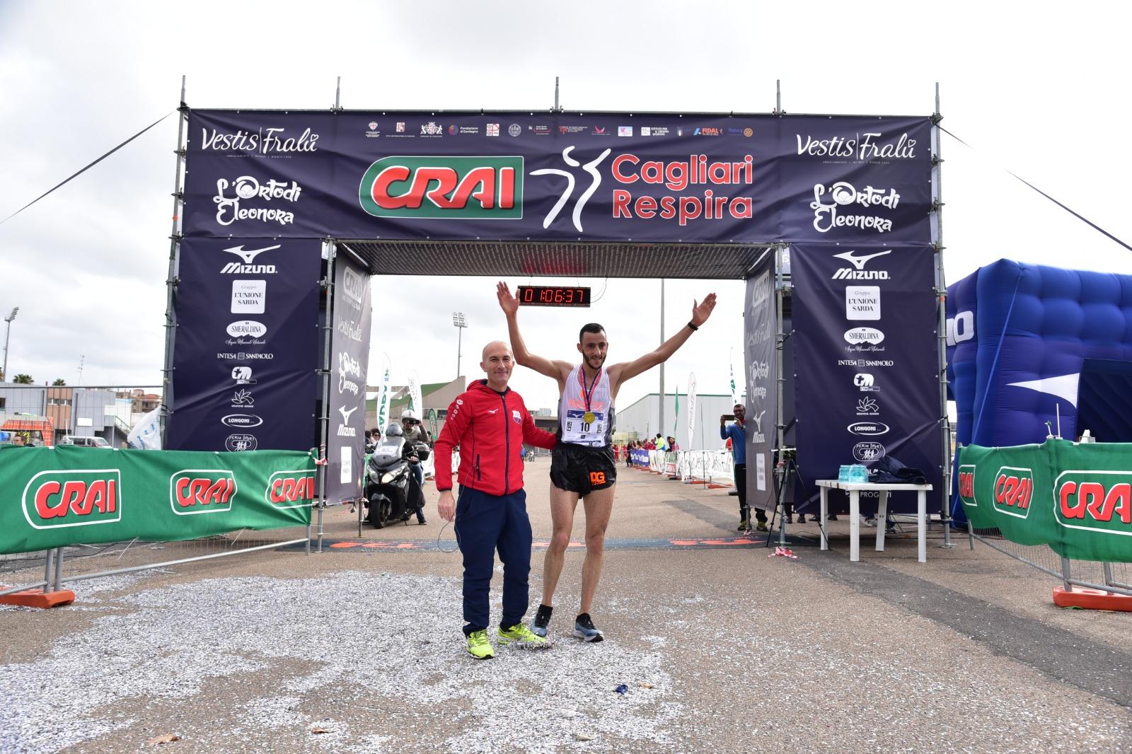 CRAI Cagliari Respira, in 3390 per un successo internazionale. Vincono lo spagnolo Chakib e la croata Sustic